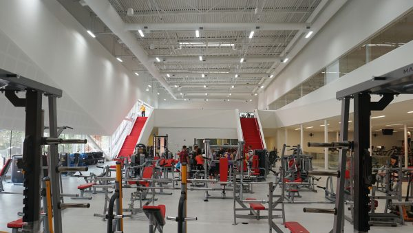 W.F. Mitchell Athletic Centre inside