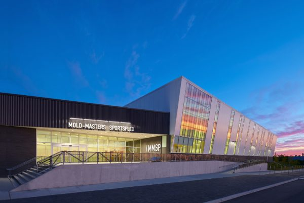 Mold-Masters Sportsplex Arena Expansion (LEED Silver)