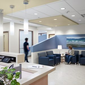 Royal Victoria Hospital inside